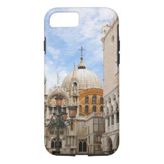 Coque iPhone 8/7 Venise, Vénétie, Italie - des oiseaux sont étés