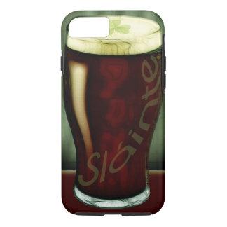 Coque iPhone 8/7 Verre drôle de bière de malt irlandaise santé