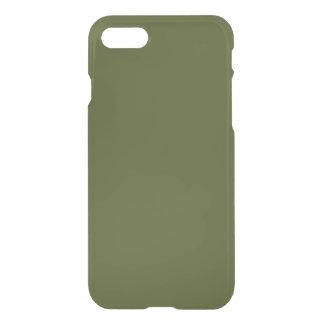 coque iphone 7 vert olive