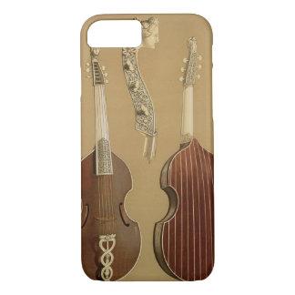 Coque iPhone 8/7 Vétiver de DA d'alto, ou viole basse, par Joachim