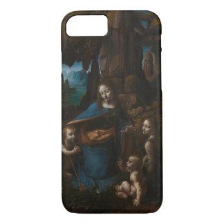 Coque iPhone 8/7 Vierge des roches par Leonardo da Vinci
