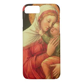 Coque iPhone 8/7 Vierge et enfant, c.1465 (huile sur le panneau)