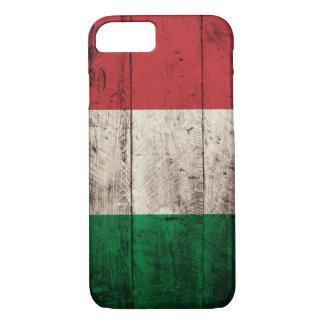 Coque iPhone 8/7 Vieux drapeau en bois de l'Italie