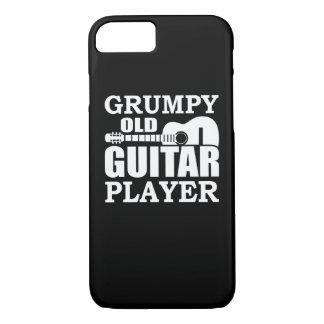 Coque iPhone 8/7 Vieux joueur de guitare grincheux de joueur de
