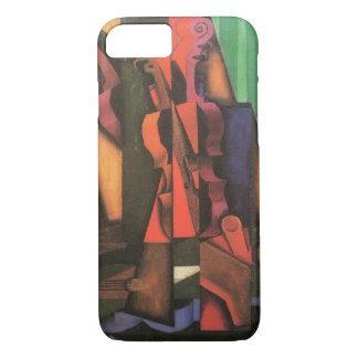 Coque iPhone 8/7 Violon et guitare par Juan Gris, art vintage de