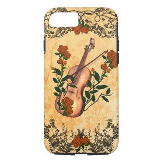 Coque iPhone 8/7 Violon impressionnant avec l'arc de violon