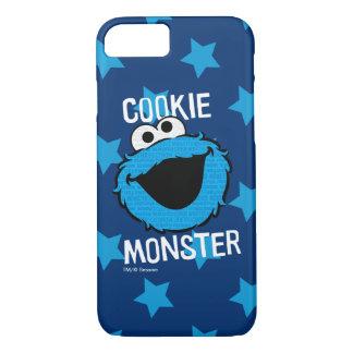 Coque iPhone 8/7 Visage de motif de monstre de biscuit