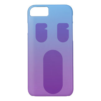 Coque iPhone 8/7 Visage pourpre