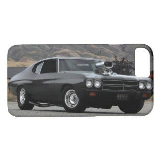 Coque iPhone 8/7 Voiture 1970 de muscle d'entrave de Chevy Chevelle