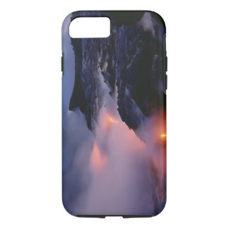 Coque iPhone 8/7 Volcan de Kilauea, parc national de volcans