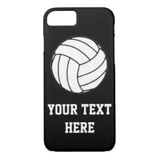 Coque iPhone 8/7 Volleyball (personnalisable)