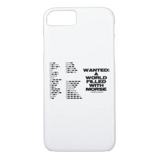 Coque iPhone 8/7 Voulu : Un monde rempli d'humour de code de geek