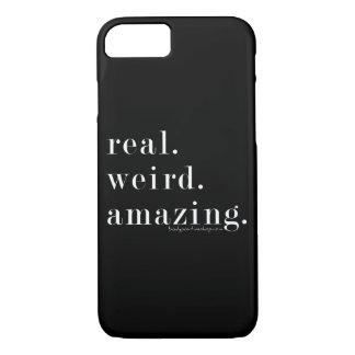 Coque iPhone 8/7 vrai. étrange. stupéfier. cas de l'iPhone 7