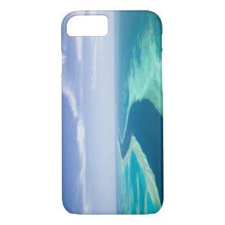 Coque iPhone 8/7 Vue aérienne de la Grande barrière de corail par