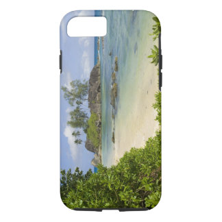 Coque iPhone 8/7 Vue côtière sur l'île de Mahe