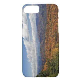 Coque iPhone 8/7 Vue d'automne des Appalaches du sud