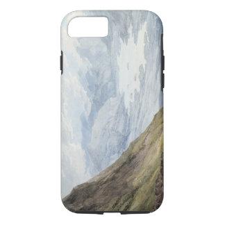 Coque iPhone 8/7 Vue de Skiddaw au-dessus de Derwentwater (la