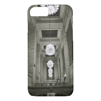 Coque iPhone 8/7 Vue des lampes (photo de b/w)