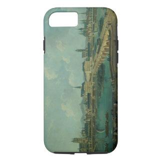 Coque iPhone 8/7 Vue panoramique des visites, 1787 (huile sur la