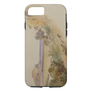 Coque iPhone 8/7 Vue près de Palerme, 1847 (stylo et encre avec la