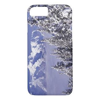 Coque iPhone 8/7 WA, NP olympique, chaîne de montagne olympique,