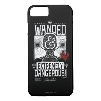 Coque iPhone 8/7 Wanded et affiche voulue extrêmement dangereuse -