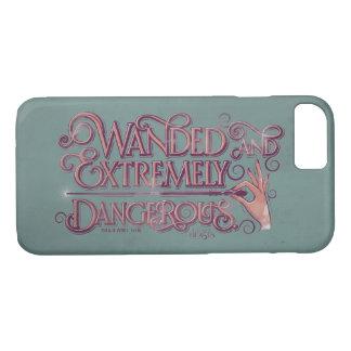 Coque iPhone 8/7 Wanded et graphique extrêmement dangereux - rose