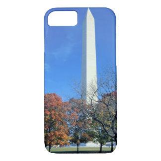 Coque iPhone 8/7 WASHINGTON, C.C ETATS-UNIS. Hausses de monument de