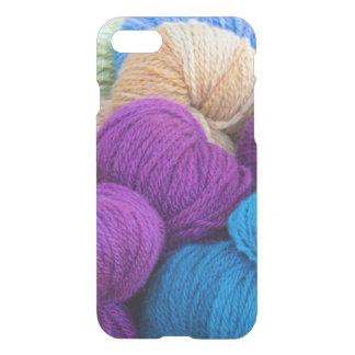 Coque iPhone 8/7 Washington, Seabeck. Boules de fil coloré