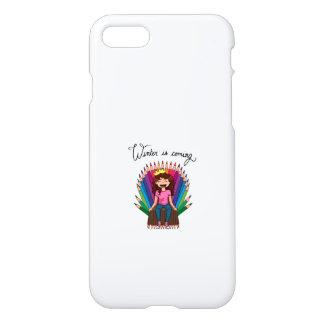 Coque iPhone 8/7 Winter- Phone