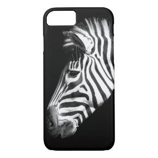 Coque iPhone 8/7 Zèbre noir et blanc