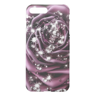 Coque iPhone 8 Plus/7 Plus 3d rose and diamonds