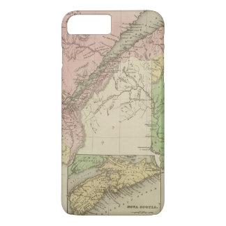 Coque iPhone 8 Plus/7 Plus Abaissez le Canada et le Nouveau Brunswick