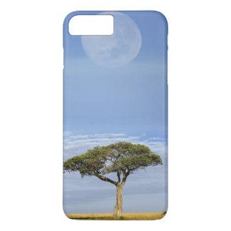 Coque iPhone 8 Plus/7 Plus Acacia d'épine de parapluie, tortilis d'acacia, et