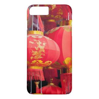 Coque iPhone 8 Plus/7 Plus Accrocher de lanterne de chinois traditionnel