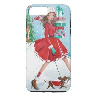 Coque iPhone 8 Plus/7 Plus Achats de Noël - cas plus d'Iphone 7