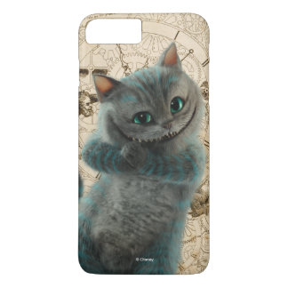 Coque iPhone 8 Plus/7 Plus Alice par la grimace de chat du psyché | Cheshire