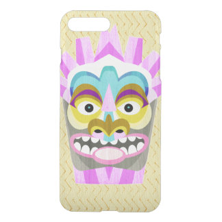Coque iPhone 8 Plus/7 Plus Aloha monstre drôle de hutte de Tiki