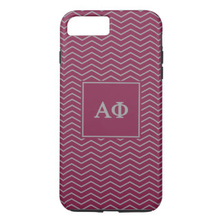 Coque iPhone 8 Plus/7 Plus Alpha motif du phi | Chevron