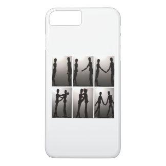 Coque iPhone 8 Plus/7 Plus Amour de silhouette