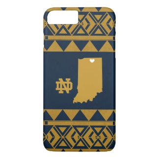 Coque iPhone 8 Plus/7 Plus Amour tribal d'état de Notre Dame |