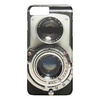 Coque iPhone 8 Plus/7 Plus Appareil-photo vintage - vieux regard d'antiquité