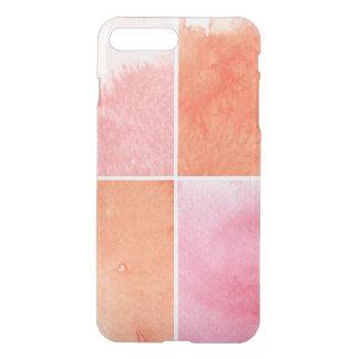 Coque iPhone 8 Plus/7 Plus aquarelle colorée