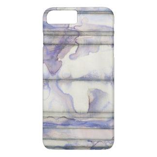 Coque iPhone 8 Plus/7 Plus Aquarelle libre d'expression de violette