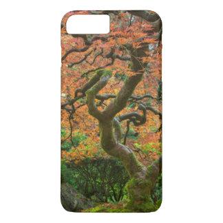 Coque iPhone 8 Plus/7 Plus Arbre d'érable aux jardins de Japonais en automne