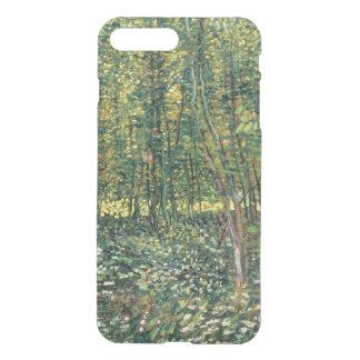 Coque iPhone 8 Plus/7 Plus Arbres de Vincent van Gogh | et broussaille, 1887