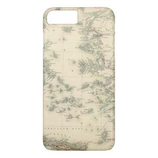 Coque iPhone 8 Plus/7 Plus Archipel Grec, antique