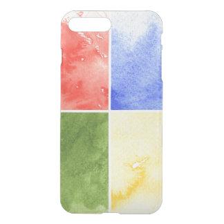 Coque iPhone 8 Plus/7 Plus arrière - plan coloré d'aquarelle pour votre