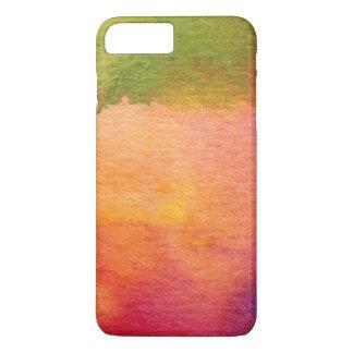 Coque iPhone 8 Plus/7 Plus Arrière - plan peint par aquarelle abstraite