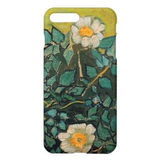 Coque iPhone 8 Plus/7 Plus Art floral vintage de roses sauvages de Vincent